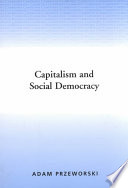 Capitalism And Social Democracy PDF