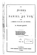 The Works of Daniel De Foe