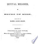Revival Melodies  Or  Songs of Zion