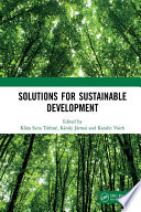 Solutions for Sustainable Development Book