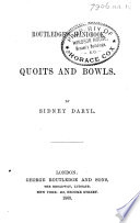 Routledge s Handbook of Quoits and Bowls