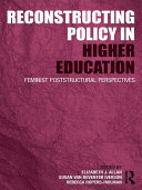 Reconstructing Policy in Higher Education