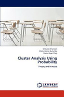 Cluster Analysis Using Probability