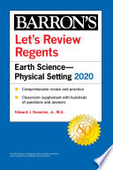 Let s Review Regents  Earth Science  Physical Setting 2020 Book