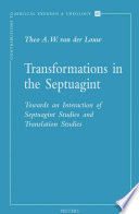Transformations In The Septuagint