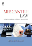 Mercantile Law for the CA-Common Proficiency Test (CPT)