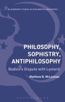Philosophy, Sophistry, Antiphilosophy