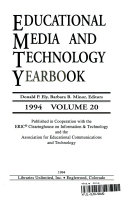 Educational Media and Technology Yearbook 1994 Book