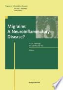 Migraine A Neuroinflammatory Disease  Book PDF