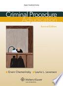 Criminal Procedure  : Adjudication