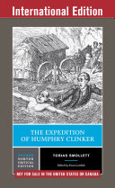 The Expedition of Humphry Clinker  Second International Student Edition   Norton Critical Editions
