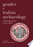 Gender   Italian Archaeology