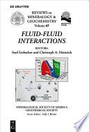 Fluid Fluid Interactions Book