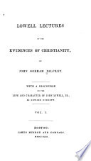 Internal and External Evidences of Christianity Book PDF