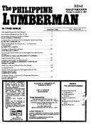 The Philippine Lumberman Book