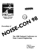 Proceedings Of Noise Con