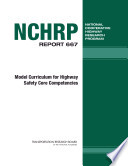 Model Curriculum For Highway Safety Core Competencies Book PDF