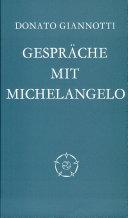 Gespräche mit Michelangelo
