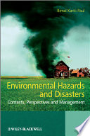 Environmental Hazards and Disasters