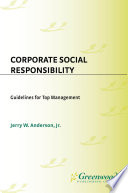 Corporate Social Responsibility  Guidelines for Top Management