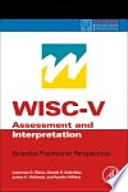 Wisc V Assessment And Interpretation Book PDF