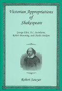Pdf Victorian Appropriations of Shakespeare Telecharger