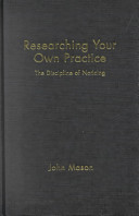 Cover of Researching Your Own Practice