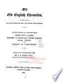 Six Old English Chronicles