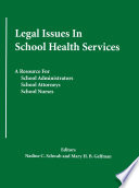 Legal Issues In School Health Services