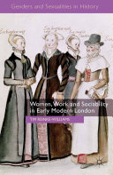 Women, Work and Sociability in Early Modern London [Pdf/ePub] eBook