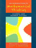 An Introduction to Mathematical Thinking