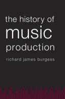 The History of Music Production Pdf/ePub eBook