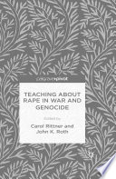Teaching About Rape in War and Genocide Book