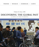 Discovering the Global Past  Since 1400