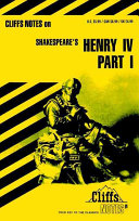 CliffsNotes on Shakespeare's King Henry IV - Teil 1
