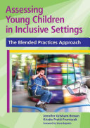 Assessing Young Children in Inclusive Settings