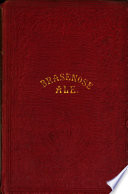 Brasenose ale. A collection of poems presented annually by the butler of Brasenose college on Shrove Tuesday