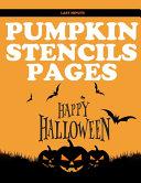 Last Minute Pumpkin Stencil Pages
