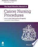The Royal Marsden Manual of Cancer Nursing Procedures Book