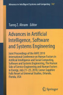 Advances in Artificial Intelligence  Software and Systems Engineering
