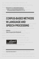 Pdf Corpus-Based Methods in Language and Speech Processing