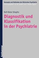 Diagnostik und Klassifikation in der Psychiatrie