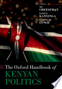 The Oxford Handbook of Kenyan Politics
