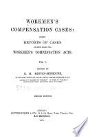 Workmen's Compensation Cases