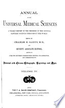 Annual of the Universal Medical Sciences and Analytical Index