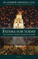 Pdf Fatima For Today