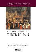 A Companion to Tudor Britain Pdf/ePub eBook