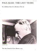 Paul Klee, the last years