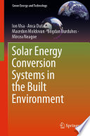 Solar Energy Conversion Systems in the Built Environment