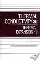 Thermal Conductivity 30 Book